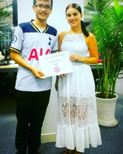 English Language Tutor Michaela from Ho Chi Minh City, Vietnam